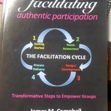 """facilitating authentic participation"": a great book with 4 stages, 7 phases for success"