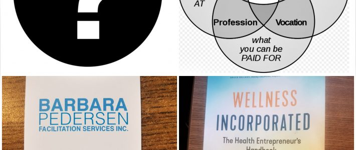 What do my facilitation business, the Ikigai concept and the Wellness Incorporated book have in common?